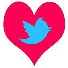 corazón love twitter