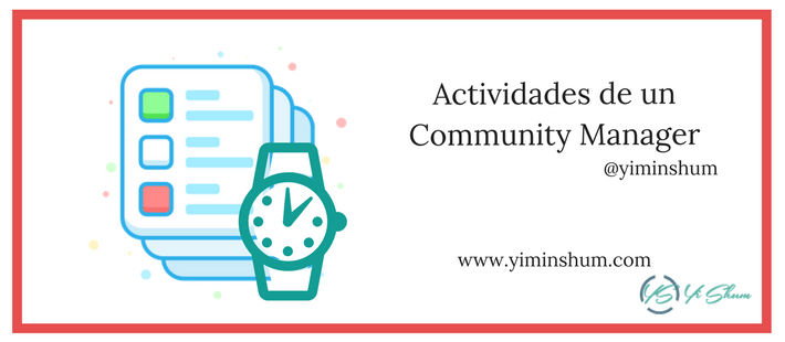 Actividades de un Community Manager