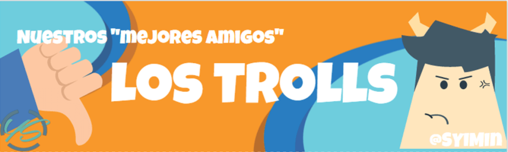 banner troll redes sociales