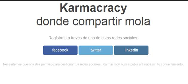 karmacracy acortador url