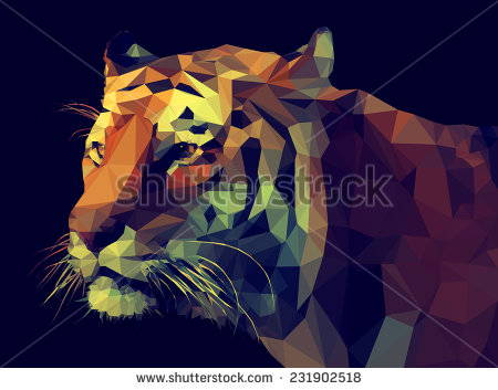 stock-vector-low-poly-design-tiger-illustration-231902518