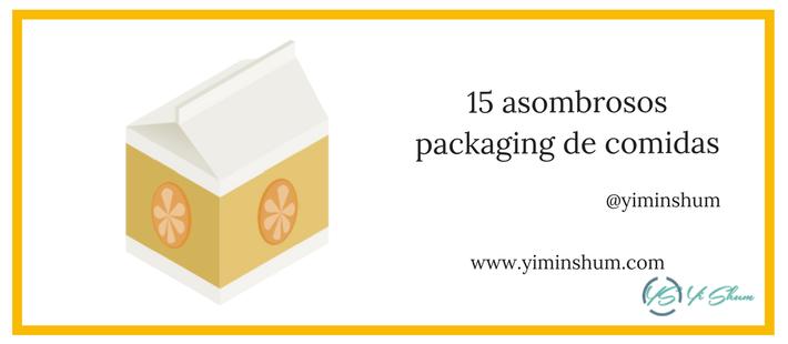 15 asombrosos packaging de comidas