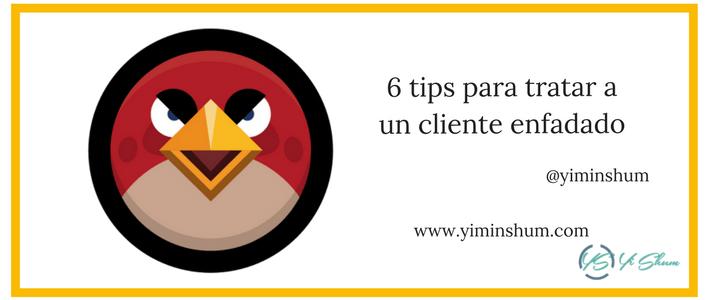 6 tips para atender a clientes enfadado imagen