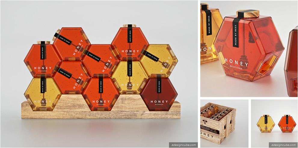 empaque único de miel