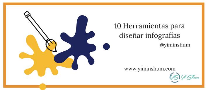 10 Herramientas para diseñar infografías imagen