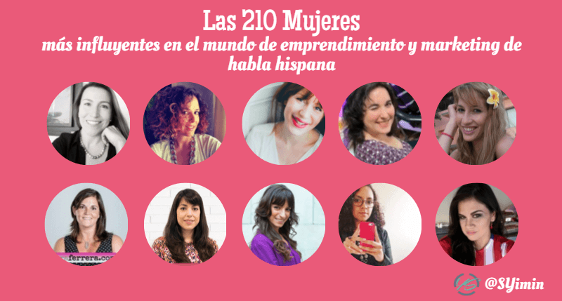 mujeres influyentes parte 13 infografía