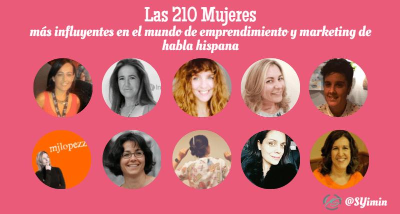 mujeres influyentes parte 15 infografía