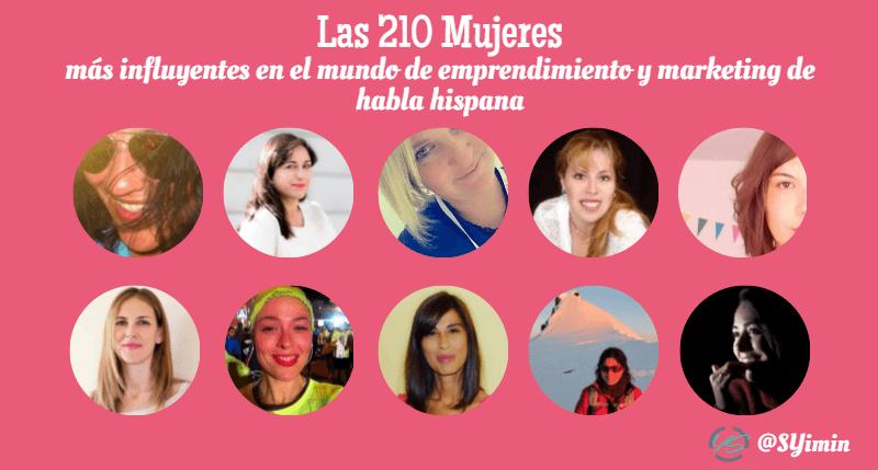 mujeres influyentes parte 18 infografía