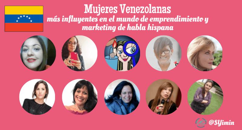 mujeres influyentes venezolanas infografía
