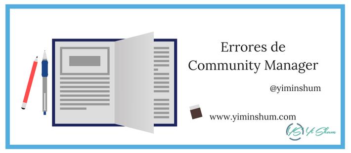 errores de community manager