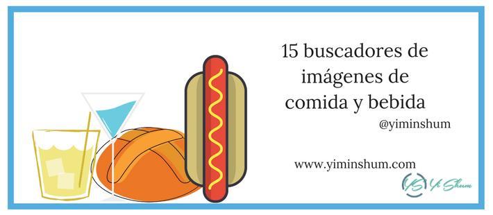 15 buscadores de imágenes de comida y bebida