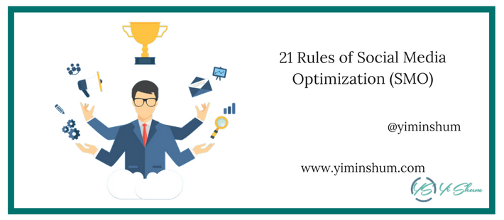 21 Rules of Social Media Optimization (SMO) imagen