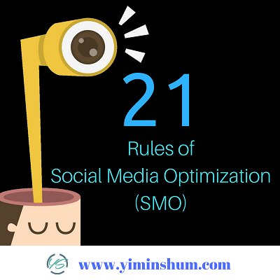 21 Rules of Social Media Optimization (SMO)