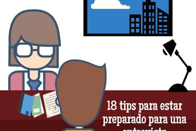 los 18 tips para una entrevista imagen