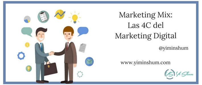 Marketing Mix: Las 4C del Marketing Digital
