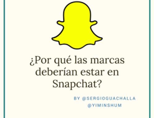 ¿Por qué las marcas deberían estar en Snapchat?