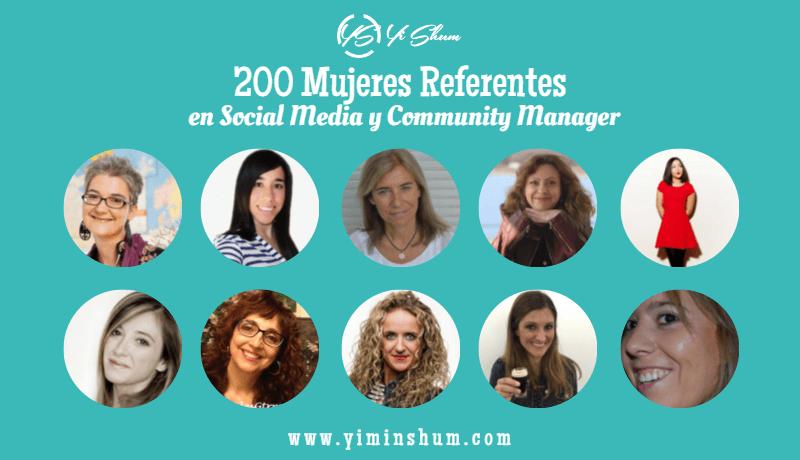 200 Mujeres Referentes en Social Media y Community Manager parte 1 imagen