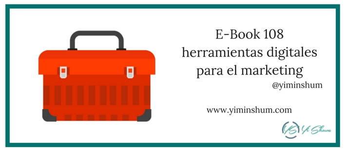 E-Book 108 herramientas digitales para el marketing imagen