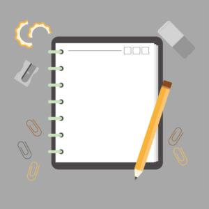 Checklist de tareas diarias en los medios digitales producto imagen