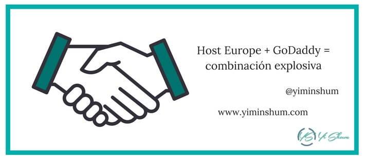 Host Europe + GoDaddy = combinación explosiva imagen
