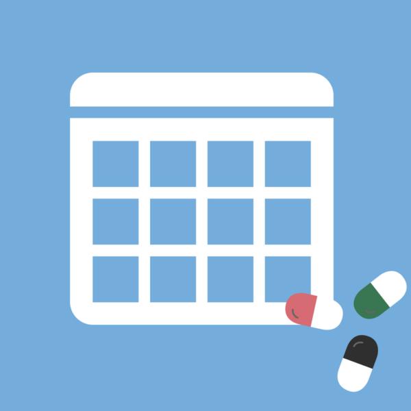 Calendario de efemérides de salud productos 2018 imagen