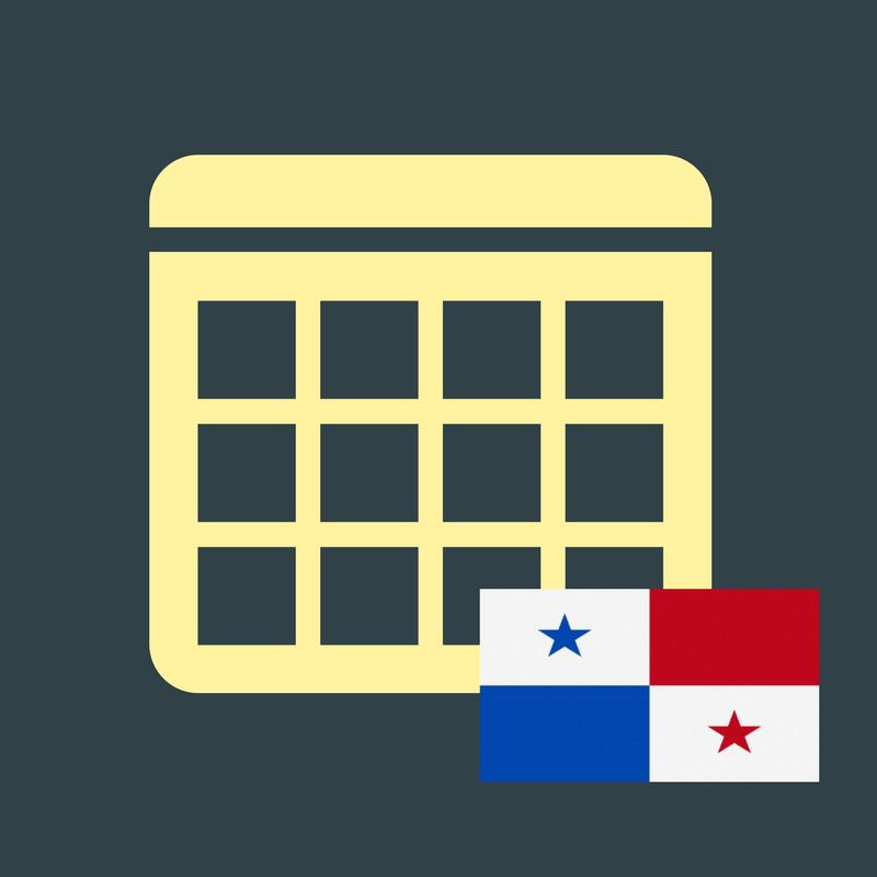 Calendario Panama 2018.Calendario De Efemerides En Panama 2018 Yi Min Shum Xie
