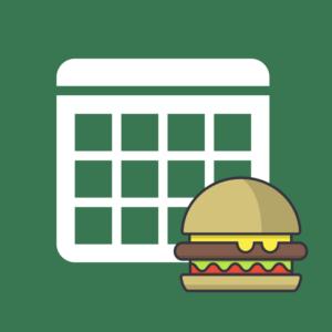 Calendario de efemérides gastronómicas 2018 producto imagen