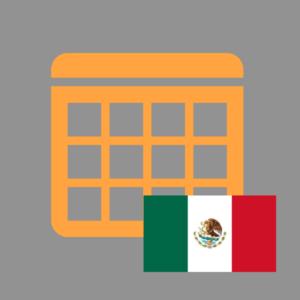 calendario de efemérides en méxico 2018 - productos imagen
