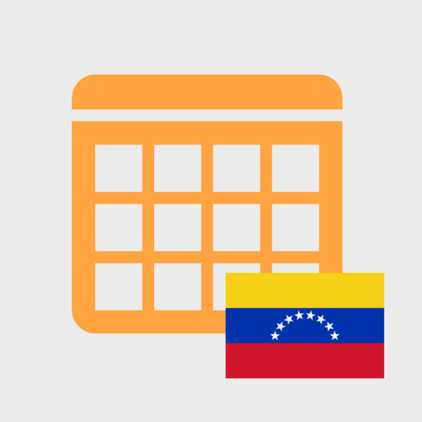 Calendario de Efemérides en Venezuela