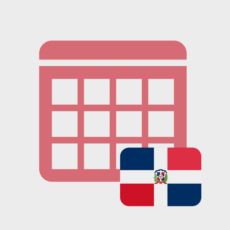 Calendario de efemérides en República Dominicana 2018 - Yi ...