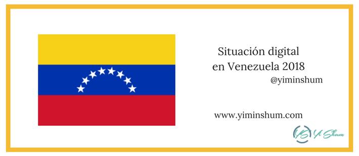 Situación digital en Venezuela 2018 imagen