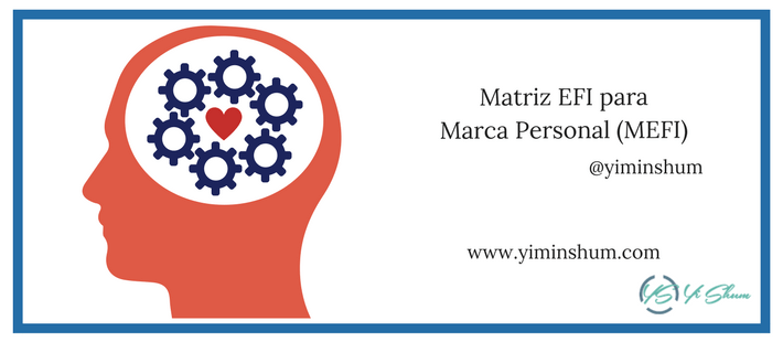 Matriz EFI para Marca Personal (MEFI) imagen
