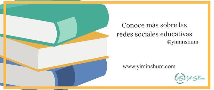 Conoce más sobre las redes sociales educativas