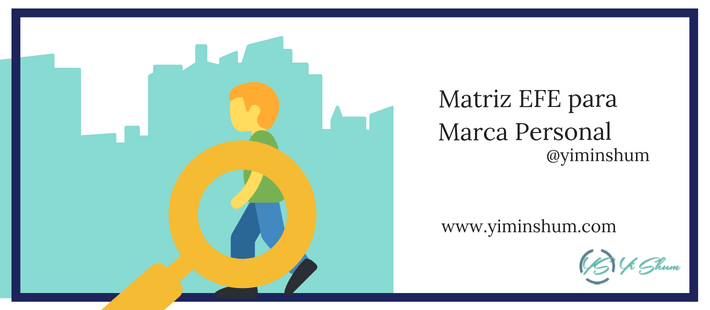 Matriz EFE para Marca Personal imagen