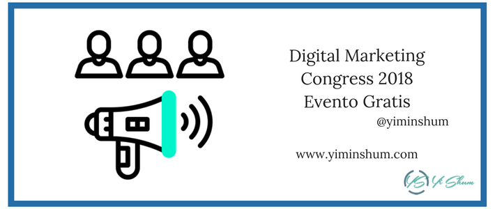 Digital Marketing Congress 2018 – Evento Gratis