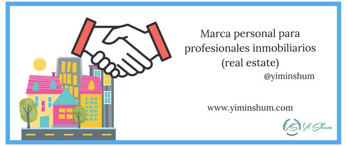 Marca personal para profesionales inmobiliarios (real estate)