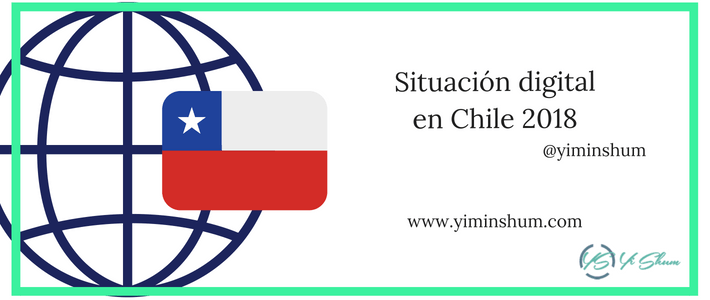 Situación digital en Chile 2018 imagen