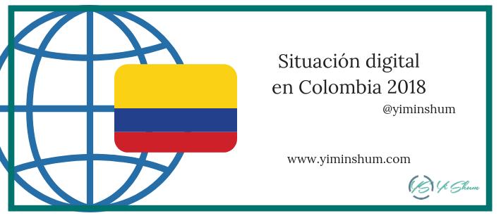 Situación digital en Colombia 2018 imagen