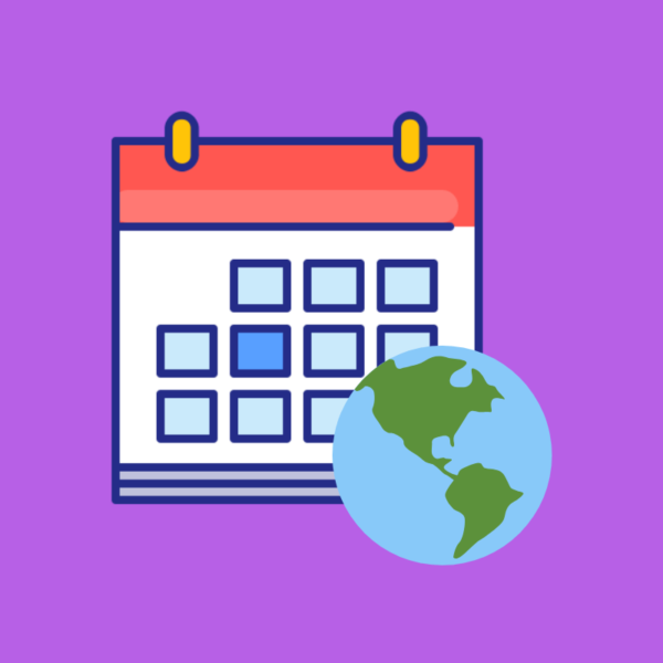 Calendario de efemérides en el Mundo 2019 imagen 1