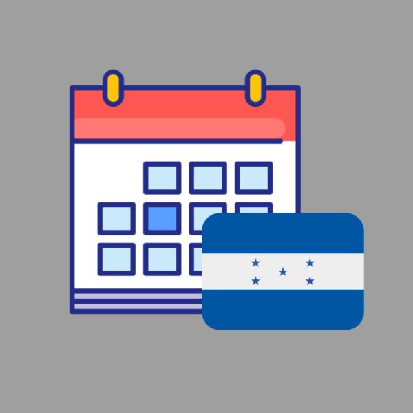 Calendario de efemerides de honduras 2019 producto