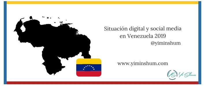 Situación digital y social media en Venezuela 2019 imagen
