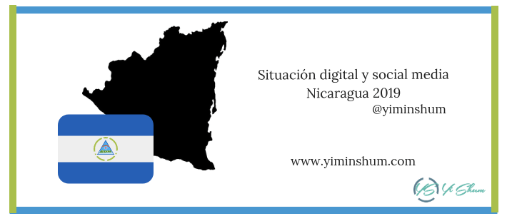 Situación digital y social media en Nicaragua 2019