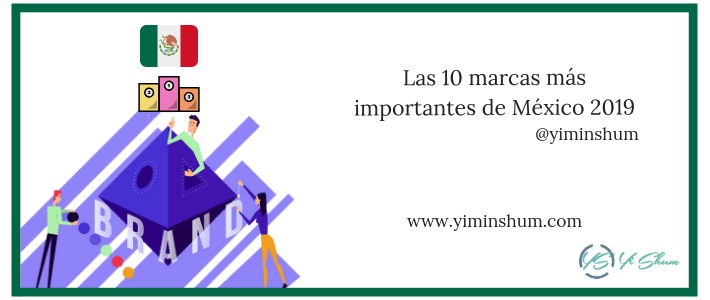 Las 10 marcas más importantes de México 2019