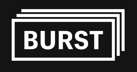 Logo de burst