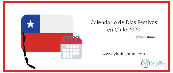 CALENDARIO DE DIAS FESTIVOS EN CHILE 2020 IMAGEN