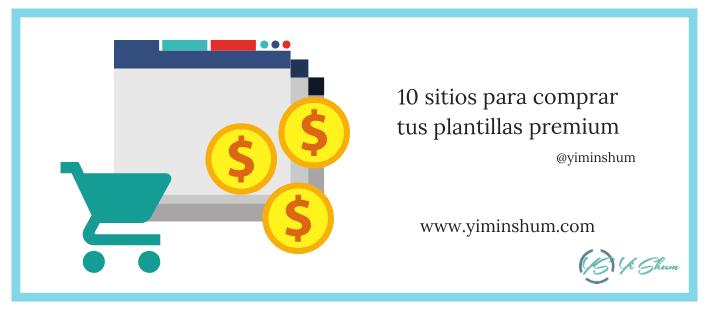 10 sitios para comprar tus plantillas premium