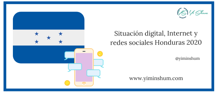 Situación digital, Internet y redes sociales Honduras 2020