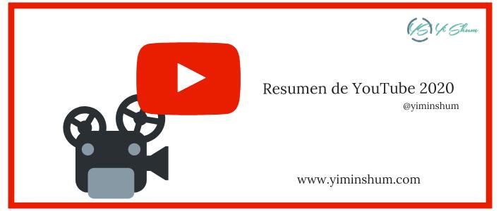 Resumen de YouTube 2020 – 2.000 millones de usuarios activos