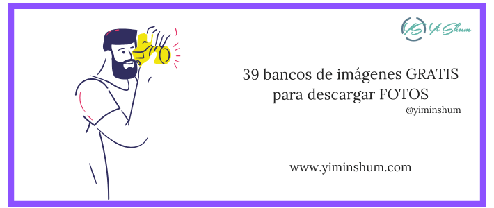 39 bancos de imágenes GRATIS para descargar FOTOS