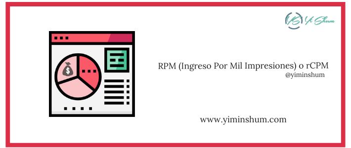 RPM (Ingreso Por Mil Impresiones) o rCPM – calculadora